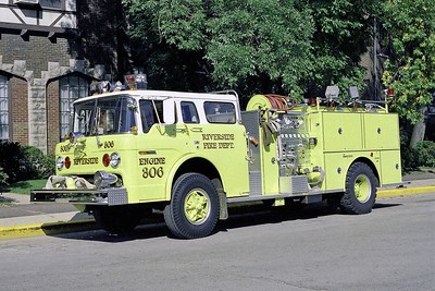 RIVERSIDE FD  ENGINE 306  1978 FORD C-8000 - SEAGRAVE   1250-750  BF