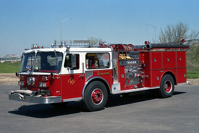 ROSEMONT FD ENGINE 164  1981 SEAGRAVE WB