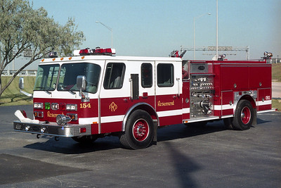 ROSEMONT FD  ENGINE 154  E-ONE