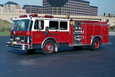 ROSEMONT  ENGINE 174  SPARTAN - E-ONE