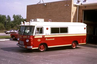 ROSEMONT SQUAD 6  1969 CLARK    RON HEAL PHOTO