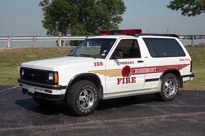 ROSEMONT FD  CAR 159  COMMAND