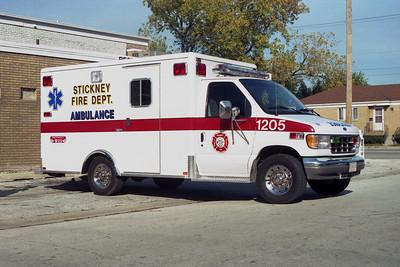 STICKNEY FD  AMB 1205  FORD E350-  BF