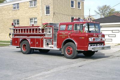 STONE PARK 904  1979 FORD C-8000 -E-ONE  1250-500
