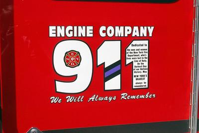 STONE PARK ENG 911 DOOR LOGO