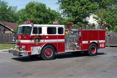 WESTERN SPRINGS ENG 440  1975 FWD-SEAGRAVE  1250-500   1991 RPI REHAB   BF