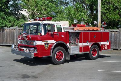 WESTERN SPRINGS SQD 336  1977 FORD C-800 - E-ONE  250-500  1992 RPI REHAB   BF