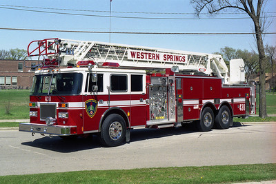 WESTERN SPRINGS TRK 1719  1993 PIERCE ARROW  1500-300-105'  BF