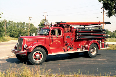 WILLOW SPRINGS  ENGINE 602  1949 MACK  TYPE 45   500-500