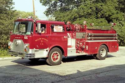 WILLOW SPRINGS  ENGINE 605  1969 MACK CF   1000-500  CF611F10-1220