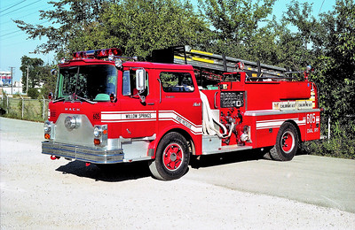 WILLOW SPRINGS ENGINE 605  1994 RPI REHAB