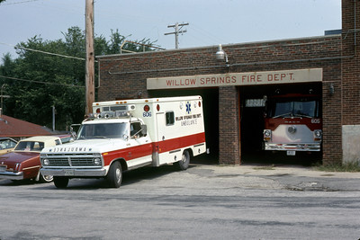 WILLOW SPRINGS  AMBULANCE 606