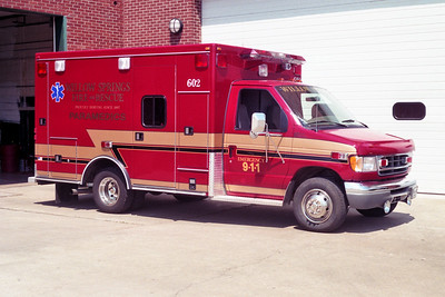 WILLOW SPRINGS  AMBULANCE 602  1999 FORD E350 - ROAD RESCUE