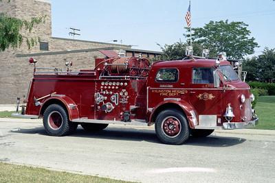 ARLINGTON HEIGHTS FD  ENGINE 413  1948  ALF 700   1000-500