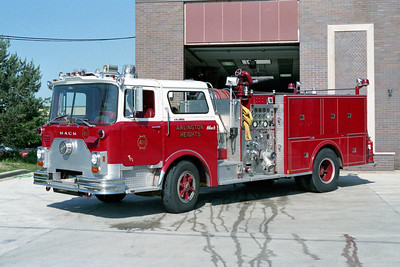 ARLINGTON HEIGHTS FD  ENGINE 411  1975  MACK CF - MARION   1500-500