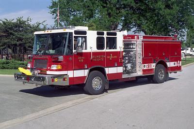 ARLINGTON HEIGHTS FD  ENGINE 4  1999  PIERCE QUANTUM   1500-500-30A-20B