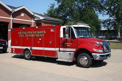 ARLINGTON HEIGHTS FD  SQUAD 2  2008  IHC 4300 - RPI