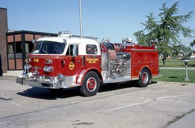 ARLINGTON HEIGHTS FD  ENGINE 416   1970 ALF  1250-500