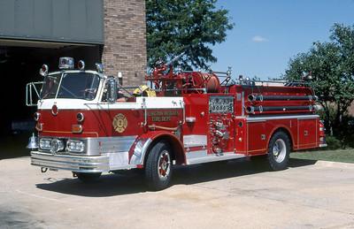 ARLINGTON HEIGHTS FD  ENGINE 4R  1965  MACK C85   750-500    X- NJ DEPARTMENT