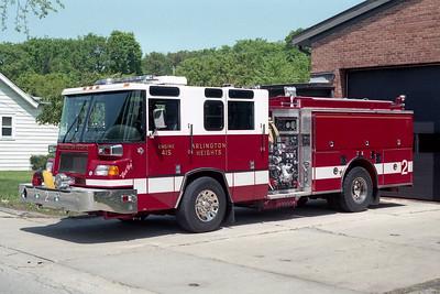 ARLINGTON HEIGHTS FD  ENGINE 2  1996  PIERCE QUANTUM   1500-500-50F   EA-389