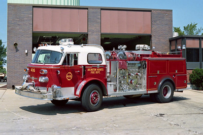 ARLINGTON HEIGHTS FD  ENGINE 416  ALF