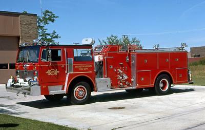ARLINGTON HEIGHTS FD  ENGINE 4  1974  IHC - HOWE    1250-500