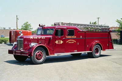 ARLINGTON HEIGHTS FD  ENGINE 1  1946  AVAILABLE - GENERAL   750-500    TRAINING DIVISION