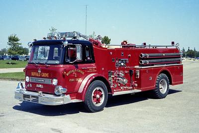 BUFFALO GROVE FD  ENGINE 247  1967  IHC - HOWE   750-500   #12201