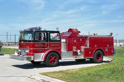 BUFFALO GROVE FD  ENGINE 213  1969  IHC - HOWE   1250-600   #12211