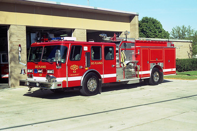 DES PLAINES FD  ENGINE 63 1996  E-ONE  HURRICANE  1500-750