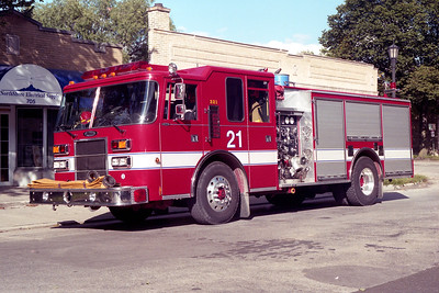 EVANSTON ENGINE 21  1994 PIERCE DASH  1250-500