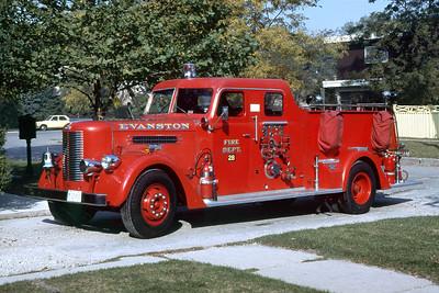 EVANSTON ENGINE 28   1952 PIRSCH  1000-