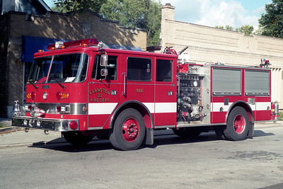 EVANSTON ENGINE 22   1991 PIERCE ARROW  1500-500-30F