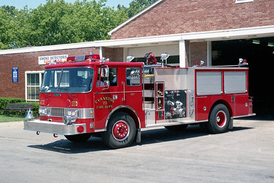 EVANSTON ENGINE 23  PIERCE DASH