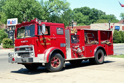 EVANSTON ENGINE 25  1976 MACK MB - HOWE  1000-500