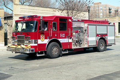 EVANSTON ENGINE 22  2002 PIERCE DASH  1500-500