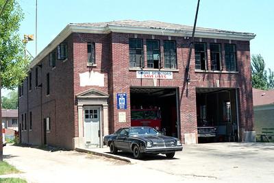 EVANSTON STATION 24 OLD BUILDING