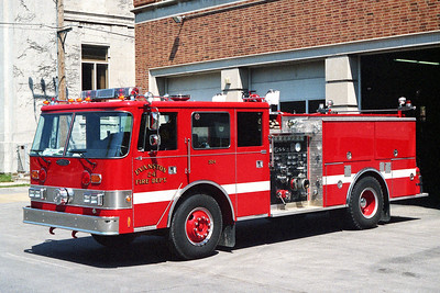 EVANSTON ENGINE 24  1989 PIERCE ARROW  1250-500-30F