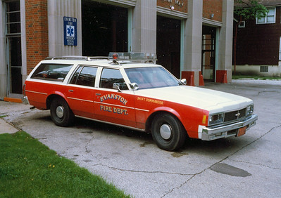 EVANSTON  SHIFT COMMANDER  CHEVY WAGON