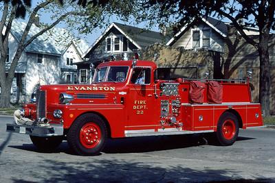 EVANSTON ENGINE 22  1970 PIRSCH  1000-