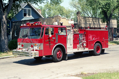 EVANSTON ENGINE 22  1983 SPARTAN - WELCH  1250-500