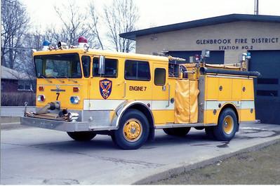 GLENBROOK  ENGINE 7   X- ENGINE 146   RPI REHAB