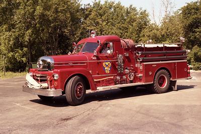 GLENBROOK ENGINE 143  SEAGRAVE 70TH