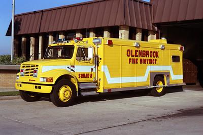 GLENBROOK SQUAD 8 IHC-HACKNEY