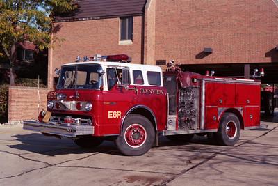 ENGINE 6R  FORD C-E-ONE