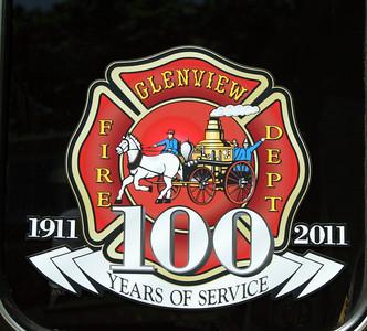GLENVIEW FD 100 YEAR LOGO