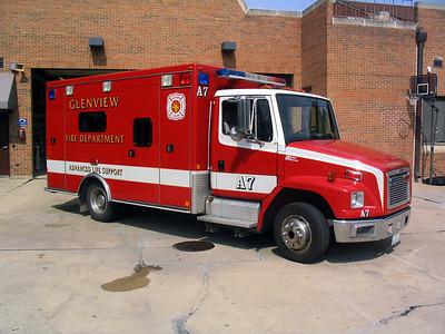 GLENVIEW FIRE DEPARTMENT  AMBULANCE 7