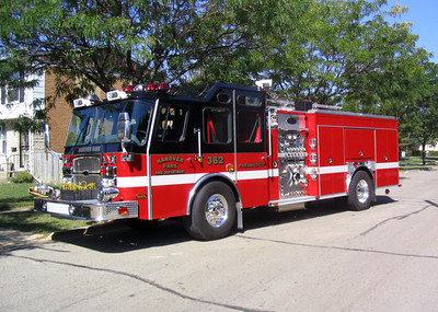 HANOVER PARK ENGINE 362  E-ONE