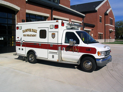 HANOVER PARK FIRE DEPARTMENT  AMBULANCE 383