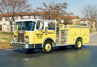 HANOVER PARK FPD ENGINE 364 SPARTAN / E-ONE